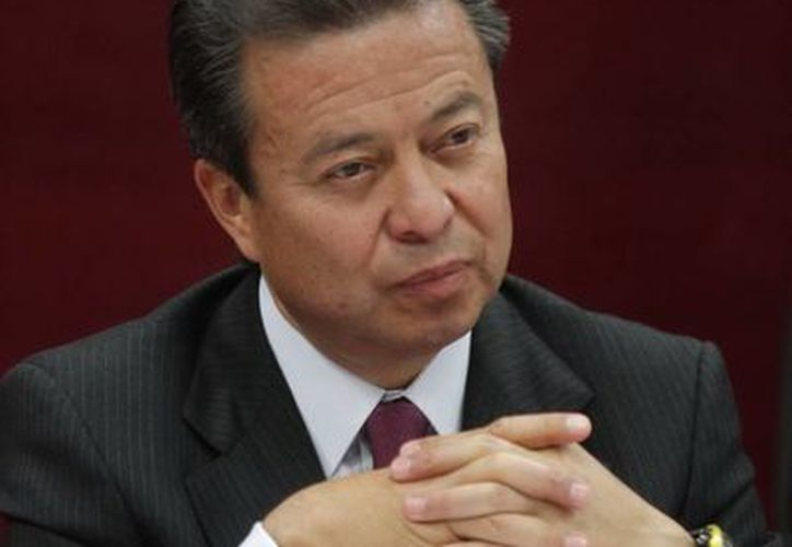 El líder nacional del PRI, César Camacho. (Archivo Notimex)