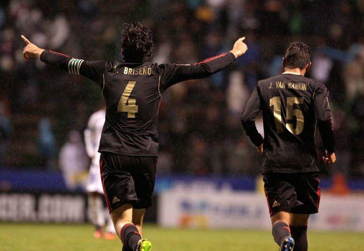 Los mexicanos se fueron al descanso con un golazo de Arturo Alfonso González, pero  el segundo tiempo fue peor. (Notimex/Contexto)
