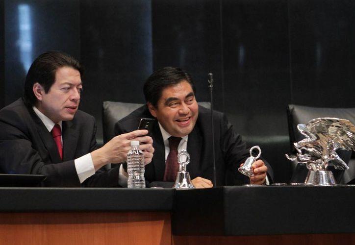Miguel Barbosa dijo que se espera la respuesta de los demás estados sobre la reforma en materia financiera para integrar el expediente correspondiente. (Archivo/Notimex)