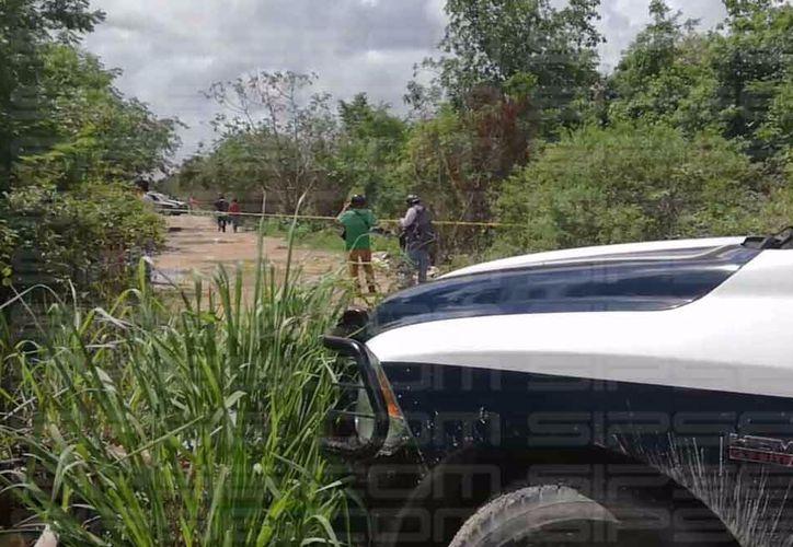 La Policía Municipal se traslado a la zona. (Orville Peralta/ SIPSE)