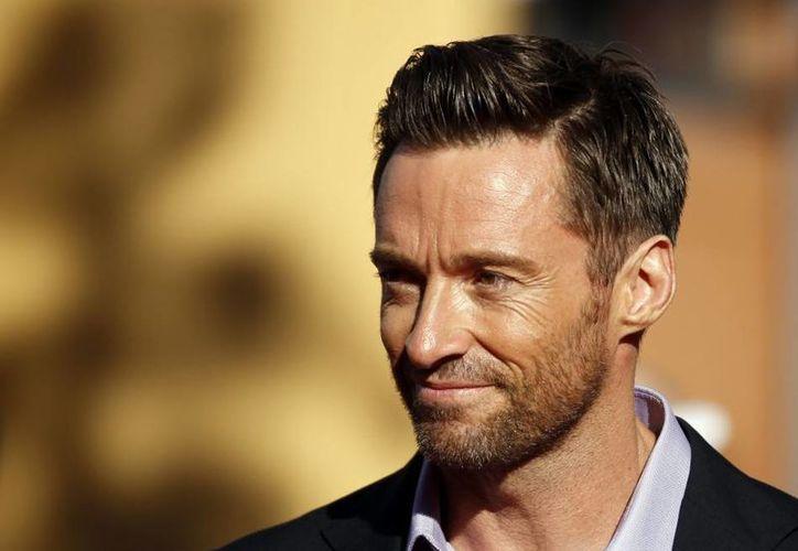 A Hugh Jackman le sienta bien todo tipo de vello facial. (Agencias)