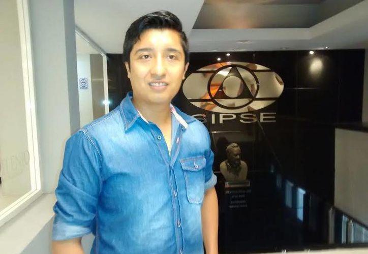 David Zalapa Requena, director de Latin Fire Dance Project, que organiza el evento del próximo domingo.