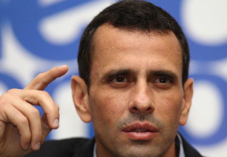 Capriles asegura que no tiene miedo. (EFE/Archivo)