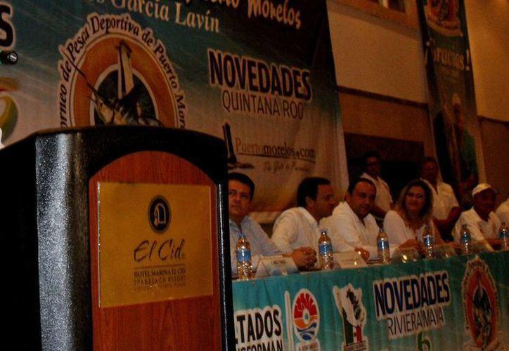 Ayer se realizó la cena de capitanes del torneo. (Francisco Gálvez/SIPSE)
