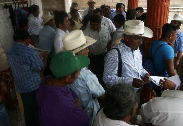 Mañana portavoces de los fondos viajarán a la Ciudad de México para asistir a una reunión con representantes de la CDI a nivel nacional. (Harold Alcocer/SIPSE)