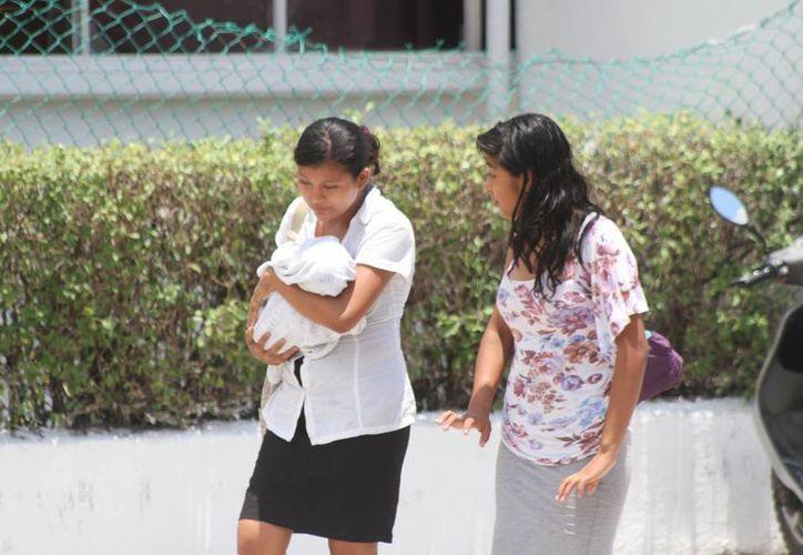 Según la Encuesta Nacional de Salud, el 85.6% de los niños recién nacidos no recibe leche materna dentro de sus primeros seis meses de vida. (Tomás Álvarez/SIPSE)