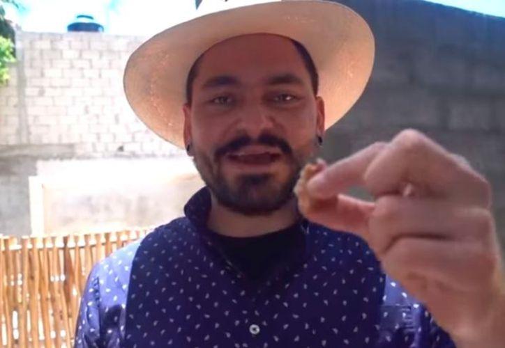 El famoso youtuber y chef Óscar Meza. (Captura de pantalla)