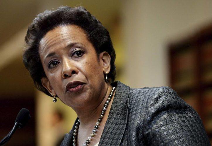 De ser confirmada como secretaria de Justicia de EU, Loretta Lynch deberá encarar el escándalo por la operación 'Rápido y Furioso'.(EFE)