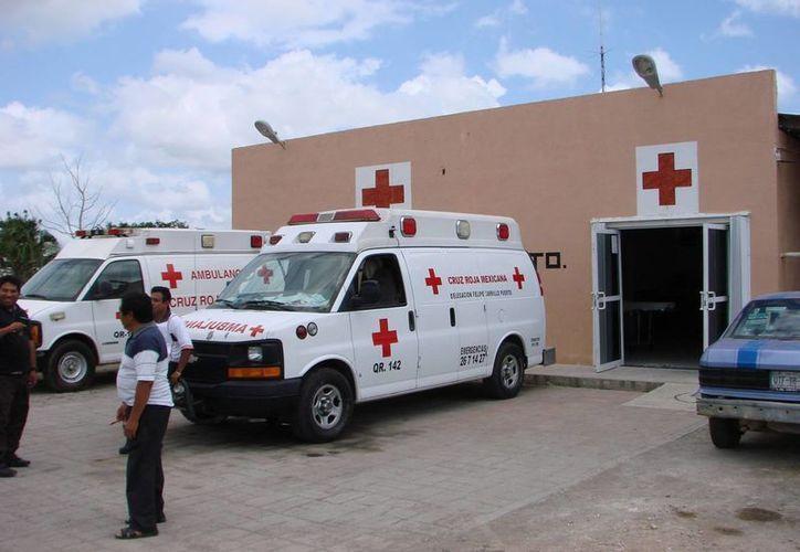 La Cruz Roja tiene gastos operativos mensuales por 70 mil pesos. (Manuel Salazar/SIPSE)