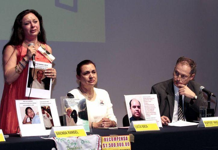 Parientes de desaparecidos exigen saber el paradero de su familiar. (Notimex)