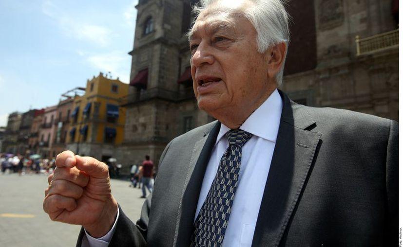 Manuel Bartlett, director de la Comisión Federal de Electricidad. (Agencia Reforma)