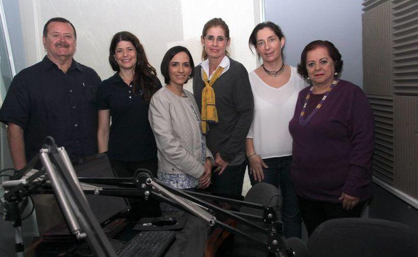 Representantes de tres organizaciones civiles dieron a conocer su labor en Yucatán a favor de niños con cáncer y de sus familias, de escasos recursos. (Jorge Acosta/SIPSE)