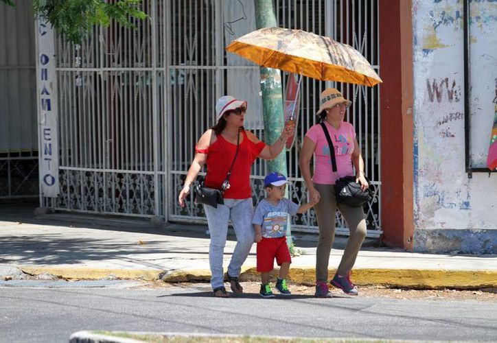 La Conagua pronostica que este jueves hará fresco en Yucatán, por la mañana y noche, pero mucho calor por la tarde. (Amílcar Rodríguez/Milenio Novedades)