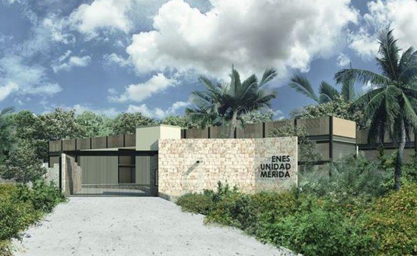 La Escuela Nacional de Estudios Superiores (ENES) que actualmente se construye en Mérida. (Foto: Redes Sociales)
