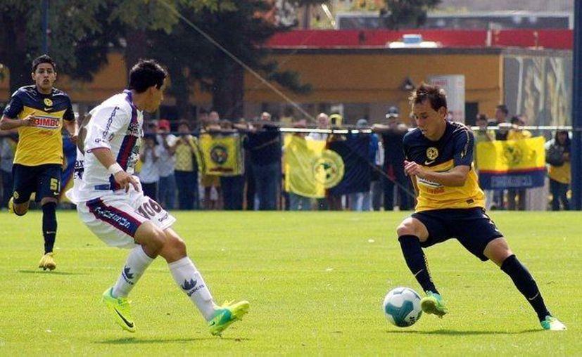 Tres unidades de hora consiguieron los Potros de Hierro en casa del América de la categoría sub 20 del fútbol mexicano. (Redacción/SIPSE)