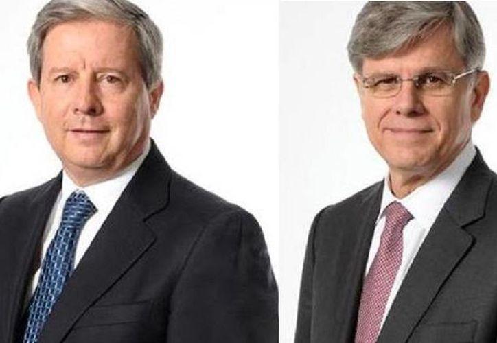 Rogelio Zambrano (i) es el nuevo presidente de Cemex mientras que Fernando González Olivieri (d) es el nuevo director general. (Foto: especial)