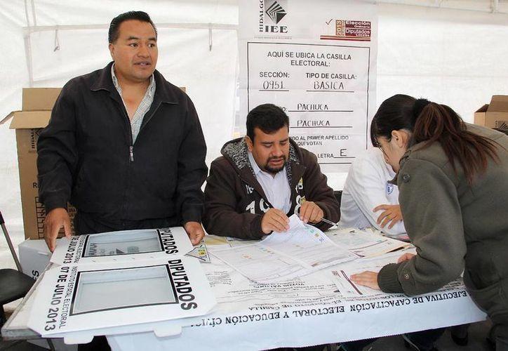 El PRI se alzó con la victoria en los 18 distritos electorales de Hidalgo para integrara el Congreso local. (Notimex)