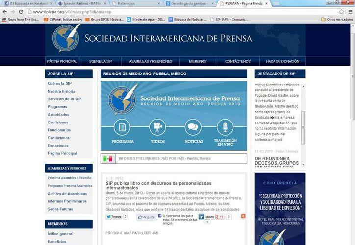 Mediante su pagina web la SIP dio a conocer los ganadores de las Becas. (SIPSE)
