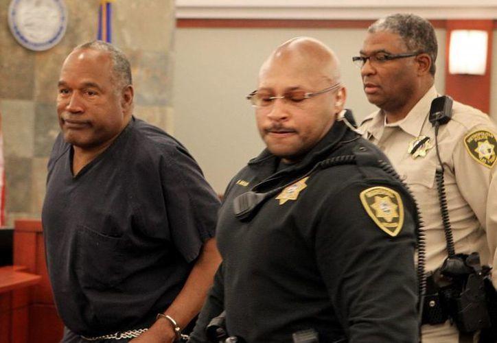 Simpson testificó previamente que Galanter le dijo que estaba en su derecho para recuperar su propiedad. (EFE)