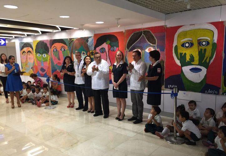 En la inauguración estuvieron presentes autoridades de la Cruz Roja y Grupo Autosur, quienes aportaron un donativo a la institución de auxilio a la población.  (Milenio Novedades)