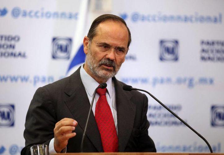 Tras la aprobación de la Reforma Energética en la Cámara de Diputados, Gustavo Madero lamentó las intransigencias del proceso. (Notimex/Foto de archivo)