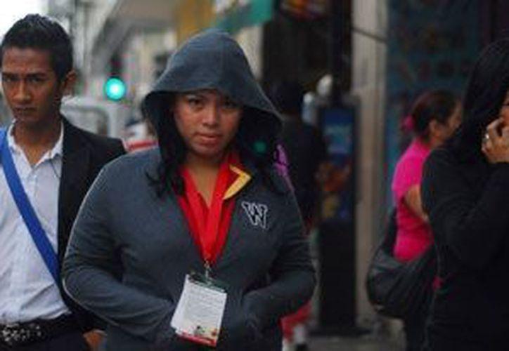 El intenso frío invernal ha causado la muerte de cinco menores en México de octubre pasado a la fecha. (Notimex)