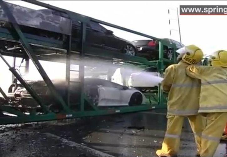 Los daños se estiman en unos 2.5 millones de euros. (Captura de pantalla)