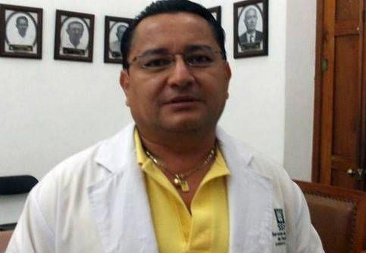 Sergio Bates Angulo, director del Centro de Salud de Progreso. (Óscar Pérez/SIPSE)