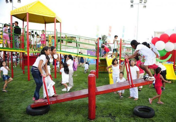 Las autoridades municipales destinarán 50 millones de pesos para el mantenimiento de los más de 600 parques y áreas verdes en el municipio de Benito Juárez. (galucomunicacion.com.mx)