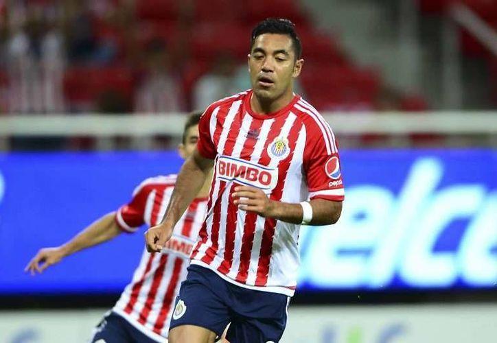 El exdelantero de Chivas, Marco Fabián, fue objeto de los ataques verbales del empresario Jorge Vergara, debido a su salida del club. (Archivo Mexsport)