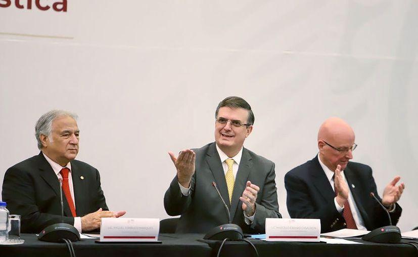 Ayer se llevó a cabo la Instalación del Consejo de Diplomacia Turística, encabezada por los Secretarios de Relaciones Exteriores y Turismo, Marcelo Ebrard y Miguel Torruco. (Redacción/SIPSE)