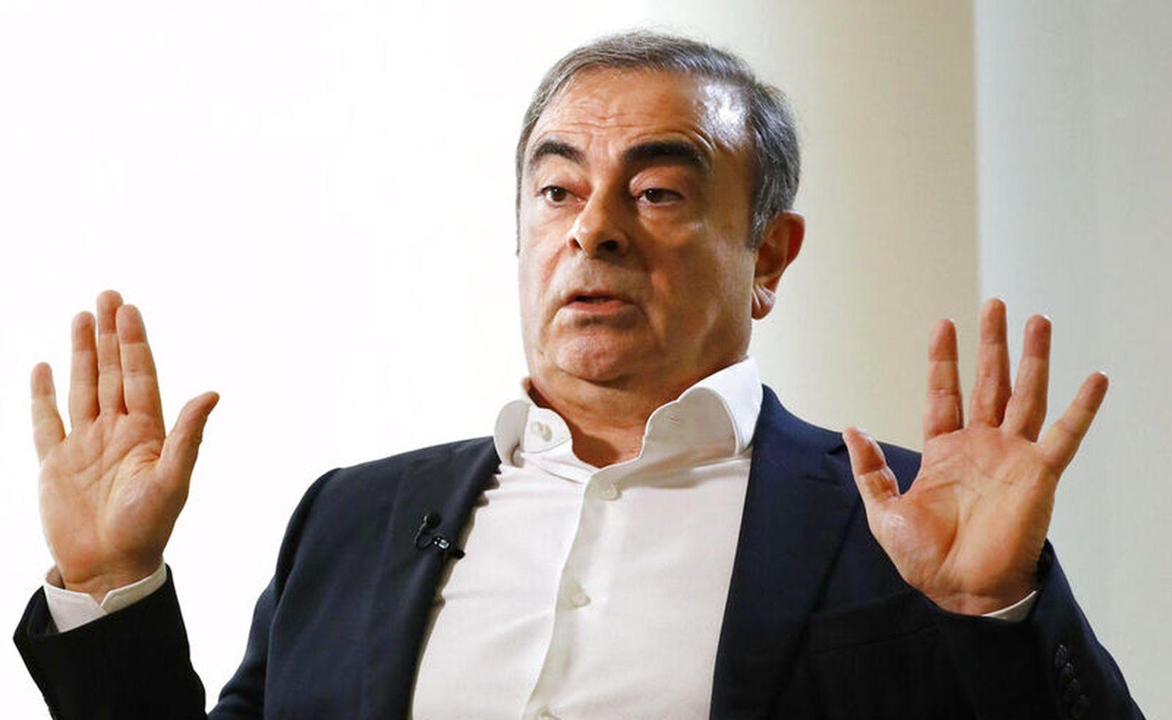 Detienen a dos cómplices en la fuga de empresario Carlos Ghosn