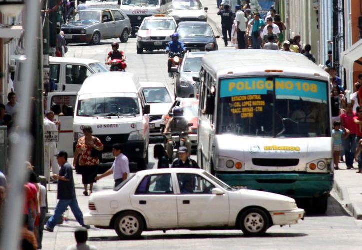 Actualmente, la Comuna sólo tiene la función de vigilar el servicio de transporte. (Christia Ayala/SIPSE)