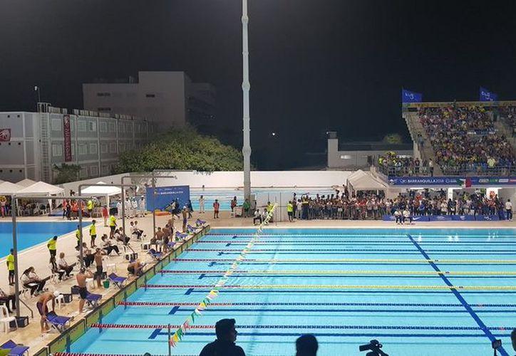Las pruebas de natación se realizan en los Juegos Centroamericanos y del Caribe Barranquilla. (vanguardia.com)