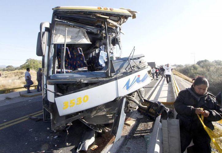 Las carreteras de Guanajuato y Guerrero son donde más accidentes se han registrado. (Archivo/Notimex)