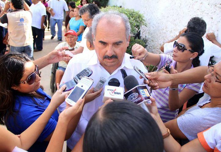 Director de Educación Primaria de la SEE, Delio Peniche Novelo. (Milenio Novedades)