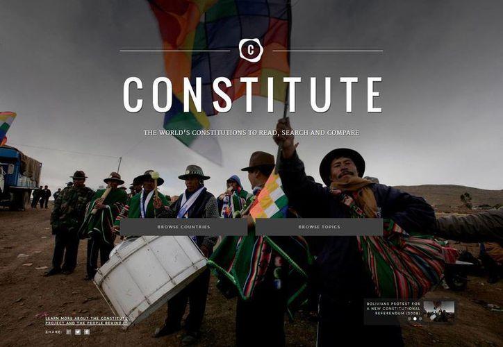 Incluye 350 entradas temáticas, facilitando cotejar el modo en que algunos asuntos son tratados en cada texto. (constituteproject.org)