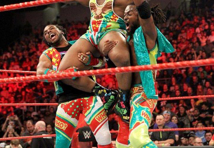 """La tercia de """"The New Day"""" es una de las más vistosas en su accionar en la WWE. (Foto: cortesía)"""
