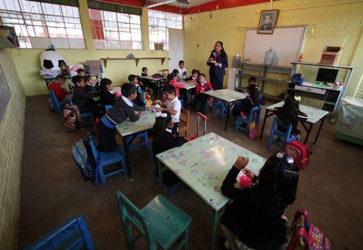 Entre 2005 y 2014 la escolarización de los niños de tres años en preescolar prácticamente se ha duplicado. (Archivo/EFE)