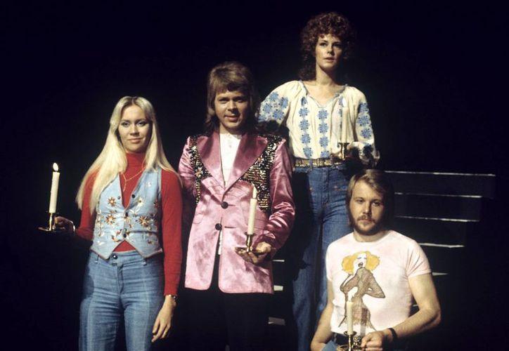 El grupo sueco Abba en sus buenos tiempos. (EFE)