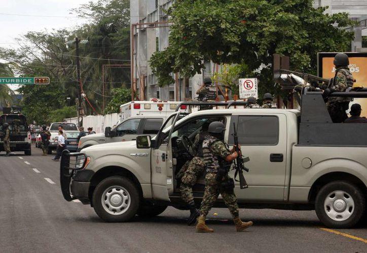 En Veracruz han perdido la vida 17 marinos. (Archivo/Agencias)