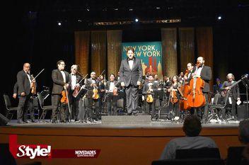 "La Orquesta sinfónica de Cancún presentó ""New York, New York"""