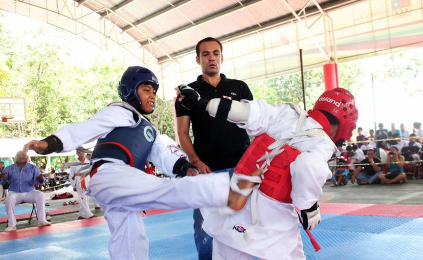 En el encuentro deportivo participaron atletas de diversos niveles de cinco Estados del país. (Redacción/SIPSE)