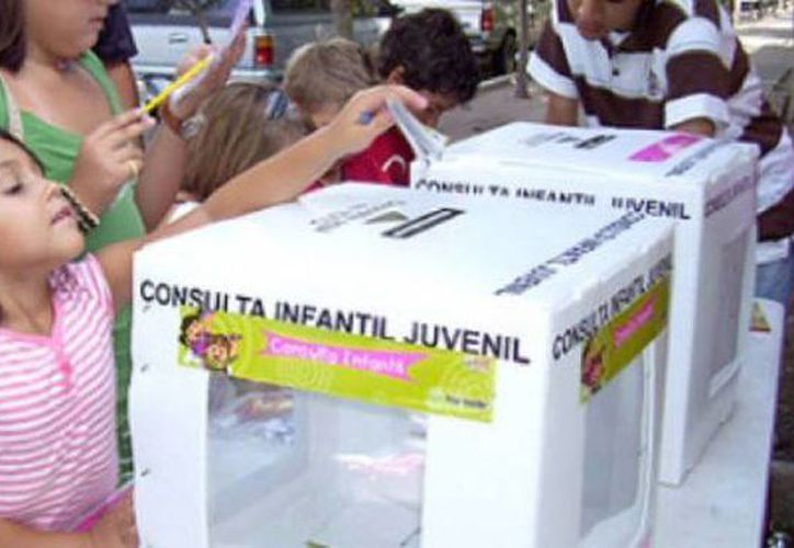 En la consulta participarán niños desde los 6 hasta adolescentes de  17 años. (Archivo/SIPSE)