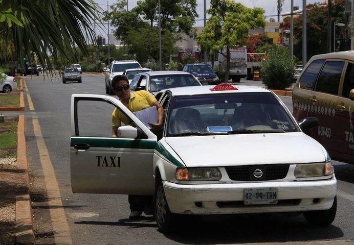 Es en las regiones en dónde es mayor la concentración de los accidentes en que se involucran los taxistas. (Tomás Álvarez/SIPSE)