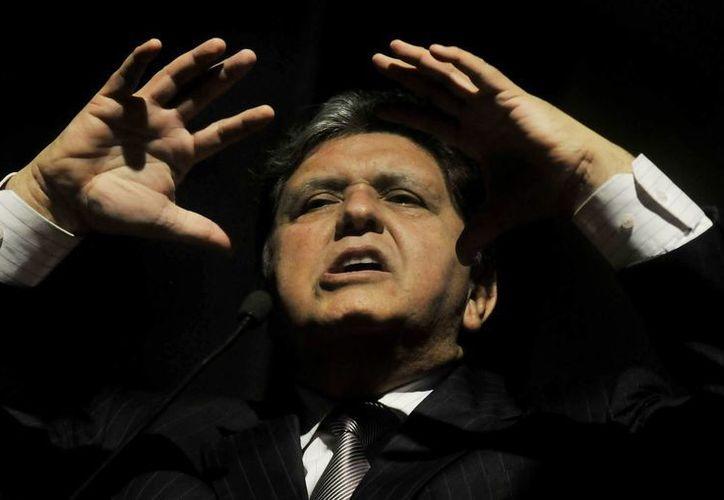 En la imagen, el expresidente de Perú Alan García. (EFE/Archivo)