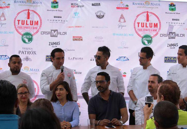 En la conferencia de prensa, señalaron que el evento se realizará del 22 al 27 de mayo. (Octavio Martínez/SIPSE)