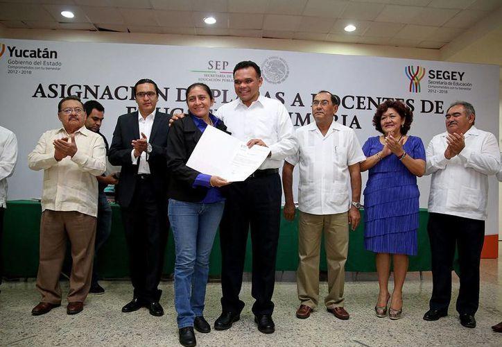 Entre las actividades del gobernador Rolando Zapata para este viernes, supervisará los trabajos del programa de rehabilitación de las vías férreas Chiapas-Mayab. (SIPSE)