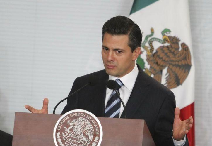 Peña Nieto propone cambios en la visión para abordar el problema de la violencia de género. (Archivo/Notimex)
