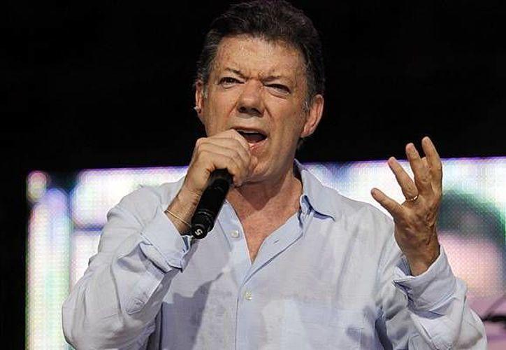 El mandatario colombiano asegura que el incidente fue utilizado por sus detractores para atacarlo. (Archivo/Agencias)